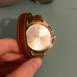 Michael Kors Double Wrap Watch